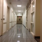 Institutional and office floor care