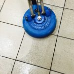 Professional floor cleaning and waxing
